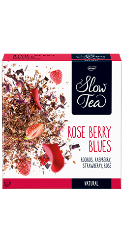 Slow Tea - Rose Berry Blues