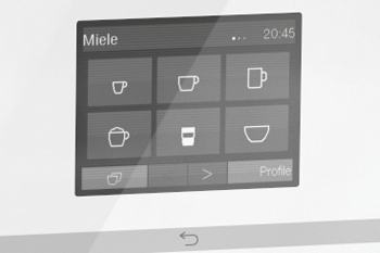 Touch-Display von Miele
