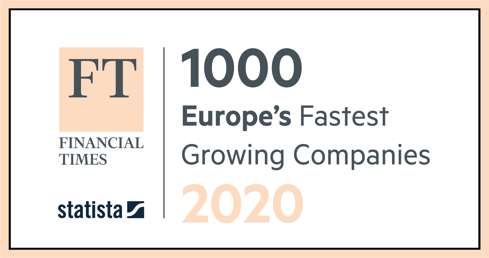 Siegel Financial Times Europe's Fastest Growing Companies 2020