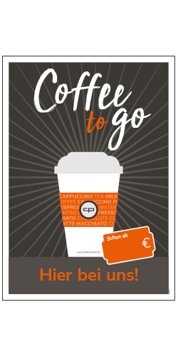 Poster A1 - Coffee to go